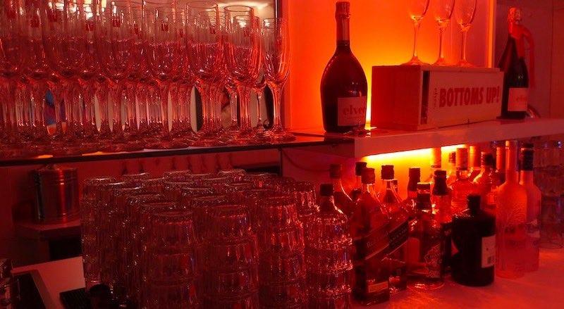 Sex Club LV Amsterdam Bar Area