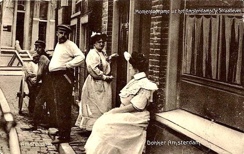 prostitution history in Amsterdam