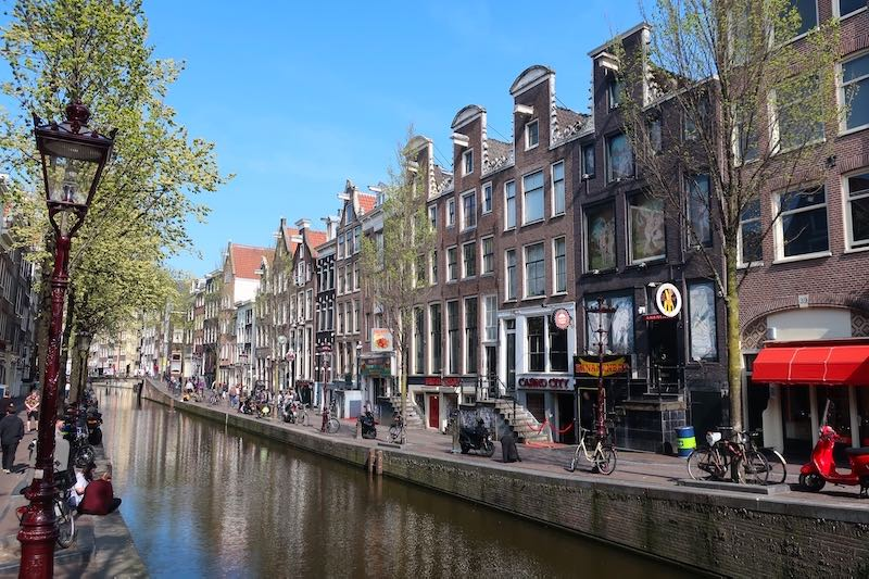 Amsterdam Red Light District Tour Ban