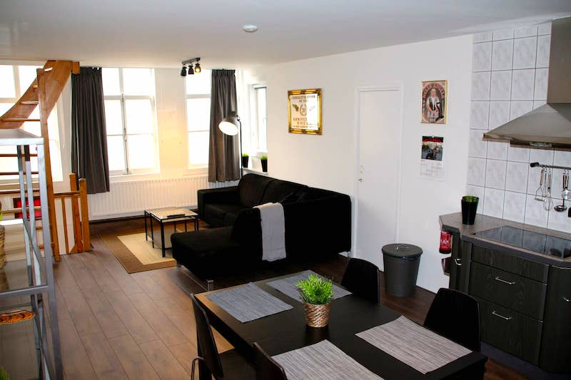 Airbnb Amsterdam downtown