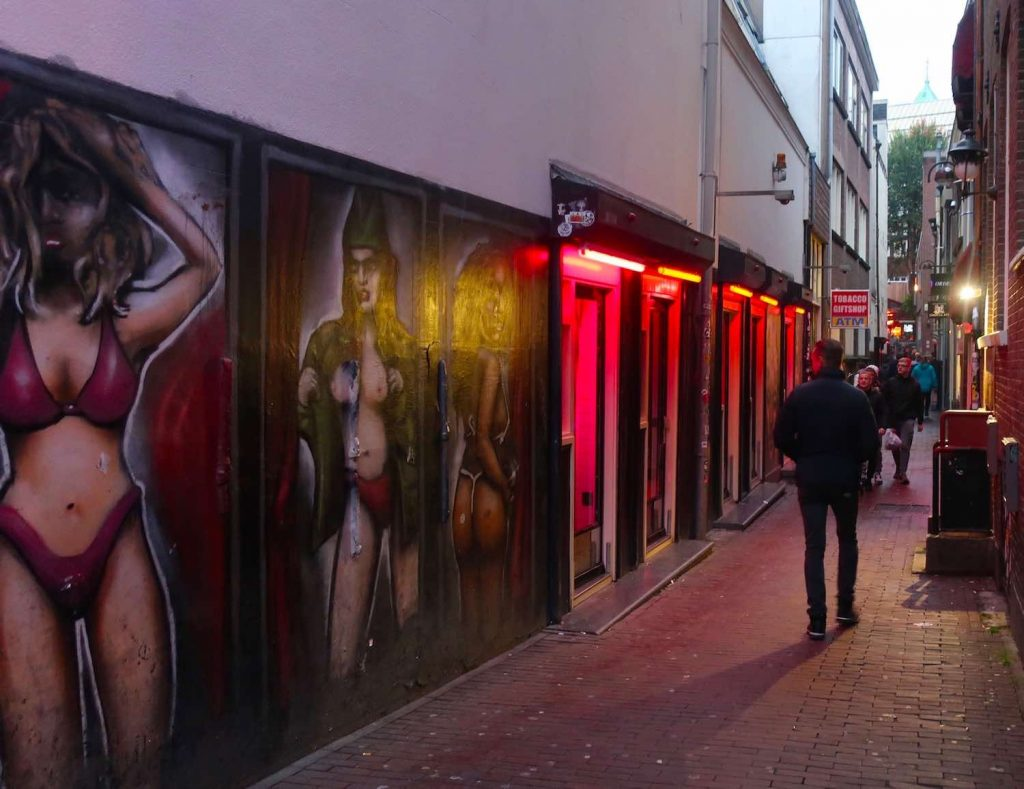 Amsterdam Red Light District Windows