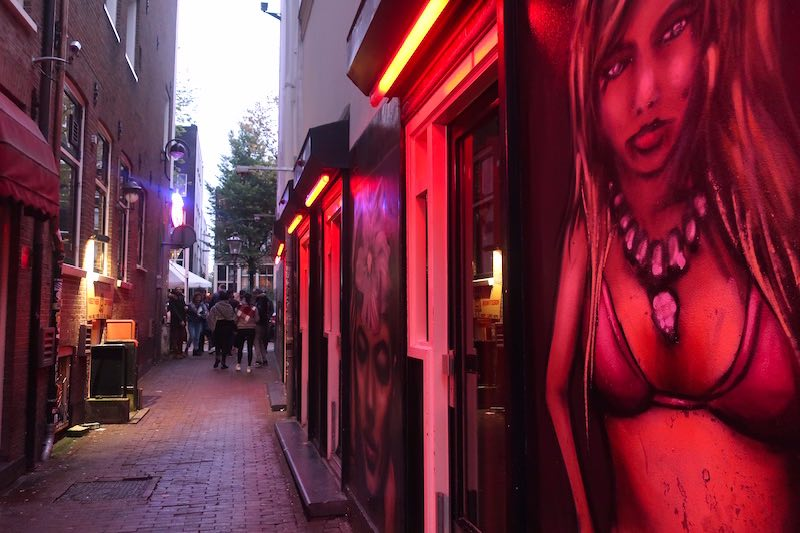 Amsterdam Red Light District regulation