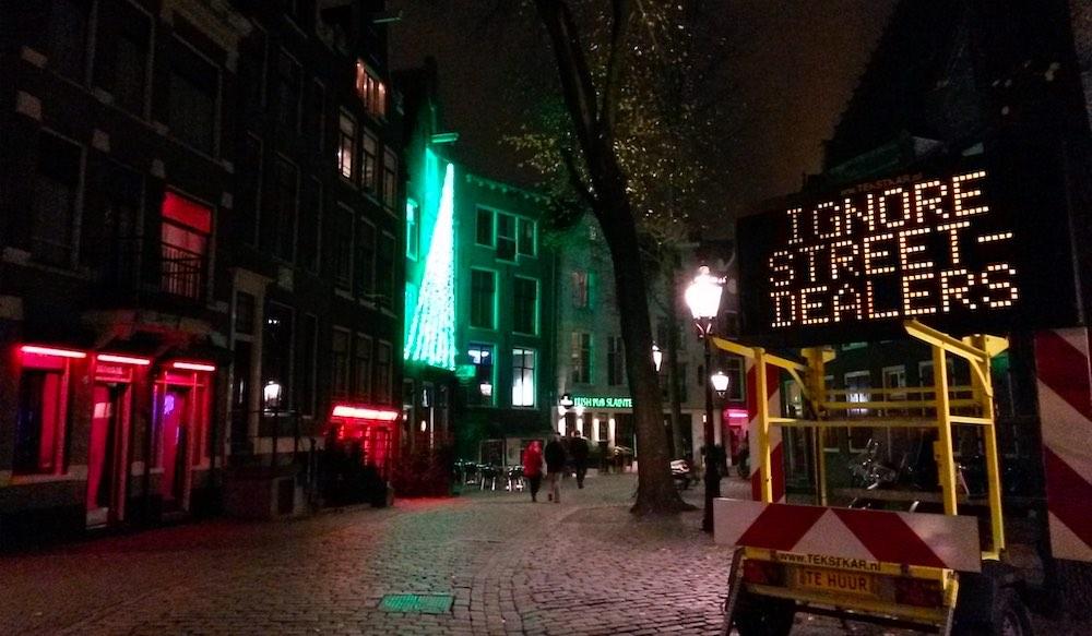 Amsterdam drugs dealers