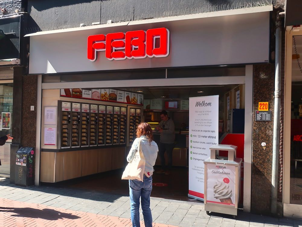 Febo Snackbar Amsterdam