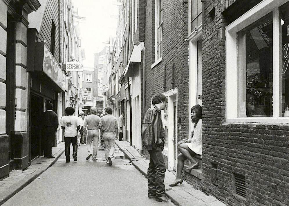 old pictures of amsterdam