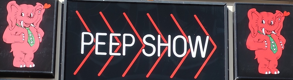 amsterdam peep shows