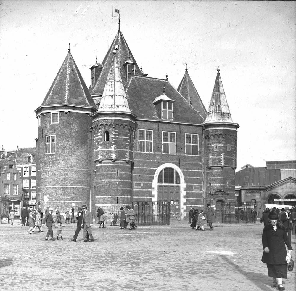 amsterdam waag 1925