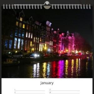 Amsterdam calendar