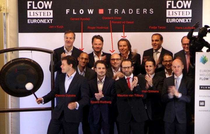 Flow Traders Bell ceremony