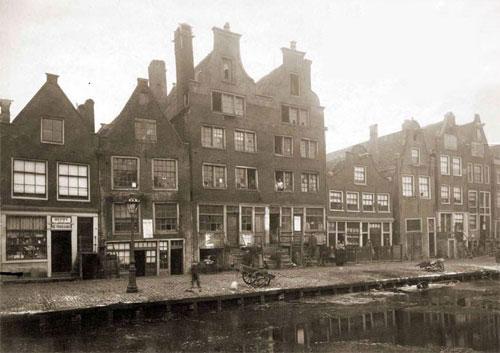 Elandsgracht 1870. Image: jordaanweb.nl