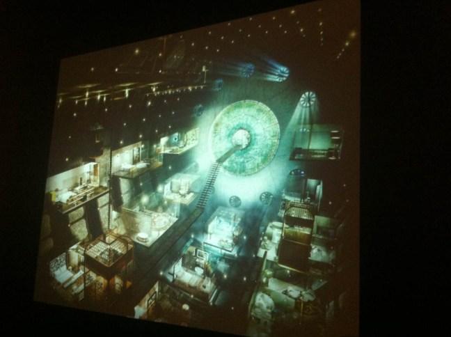 Virtual Interiors, part of the Black Zone