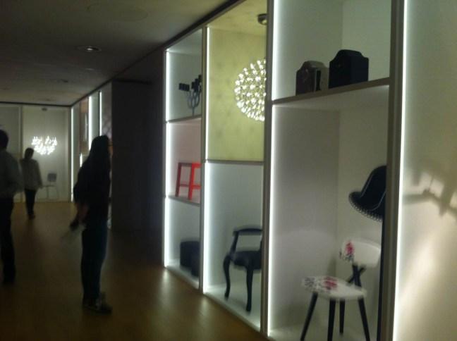 The Art Decoration lounge
