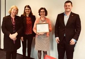Rector-magnificus benoemd tot buitengewoon lid 12 april 2018