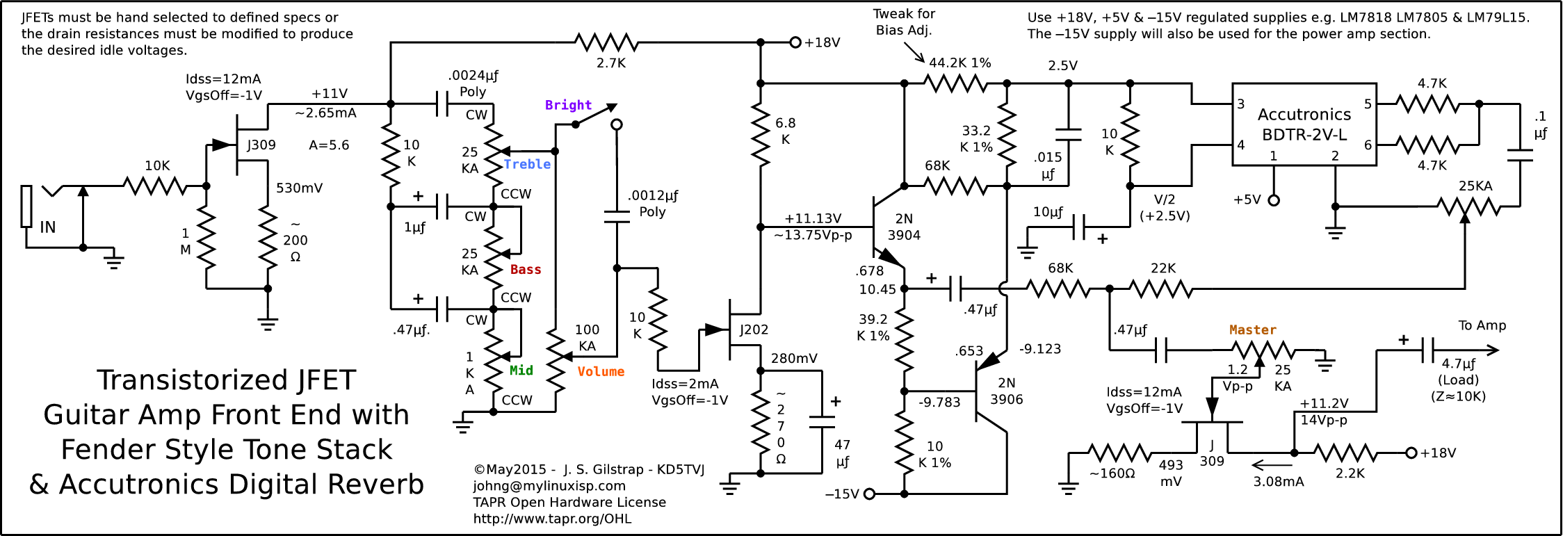 6bq5 Tube Schematic