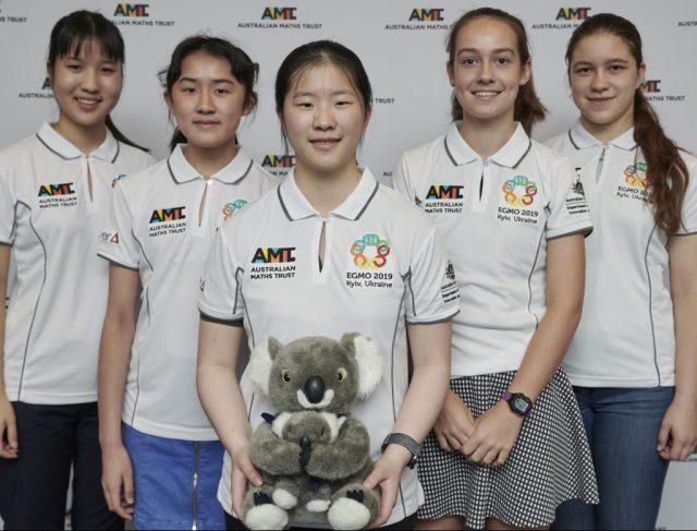 2019 Australian EGMO team