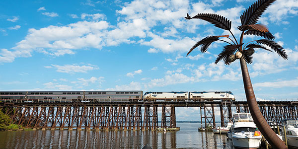Amtrak Pennsylvanian Route