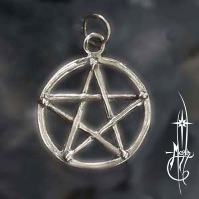 Drum Stick Pentacle Amulet