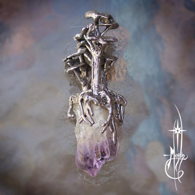 Tree Crystal Amulet