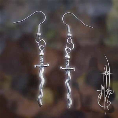 The Sun Sword Earrings