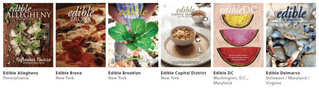 "Explore ""Edible Communities"" in the Northeast and Mid-Atlantic!"