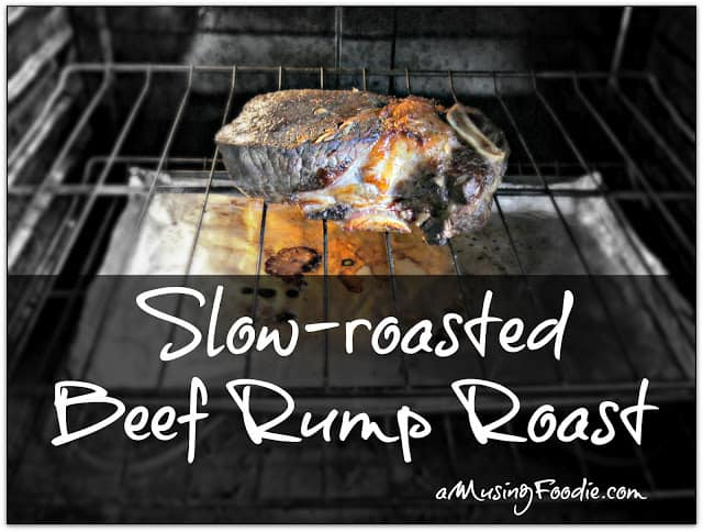 how to cook a rump roast