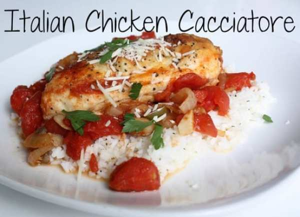 chicken cacciatore, dinner recipes, italian dinner recipes