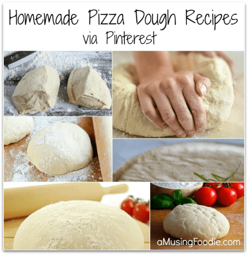 How to make homemade pizza dough via pinterest recipes