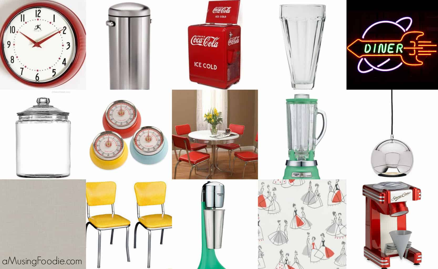 20 ideas for a 39 50s diner kitchen a musing foodie for 50s kitchen ideas