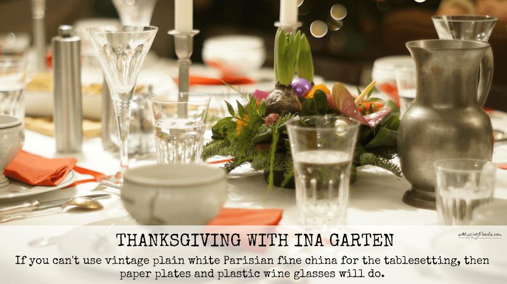 Thanksgiving Table u2013 so elegant! & ina garten thanksgiving table u2013 Loris Decoration