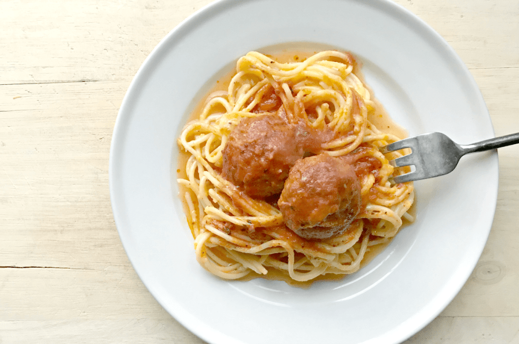 Quick Instant Pot Italian Meatballs and Sauce