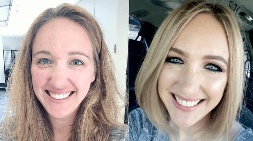 A Hair Makeover by a Celebrity Stylist