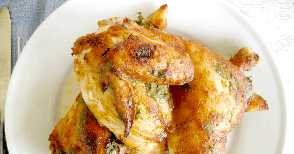 Chili Lime Coconut Roast Chicken