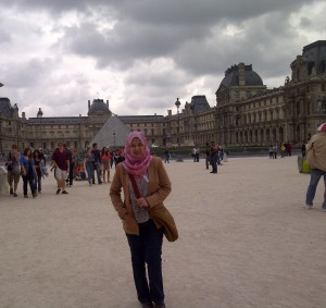 Me at Louvre Museum  The Most Fascinating Places In Paris 09