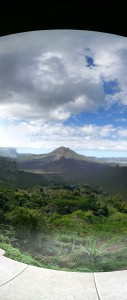 Mount and Lake Batur, in front of our restaurant  How To Manage Your 3 Day Holiday In Bali 20140808 145013