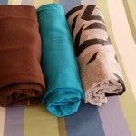 Roll your clothes  20 Tips And Tricks For A Muslimah - What and How to Pack for Traveling 20141211 101937