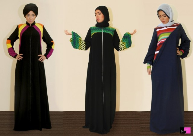 abaya6  The Art of Wearing Hijab Part 2: Abaya Style abaya6