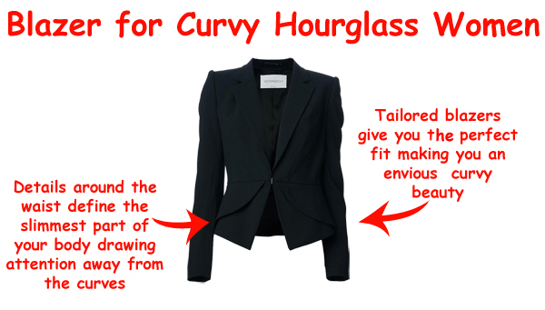 blazer  The Art of Wearing Hijab Part 4: Evening Wear. An Hourglass Shaped Body blazer
