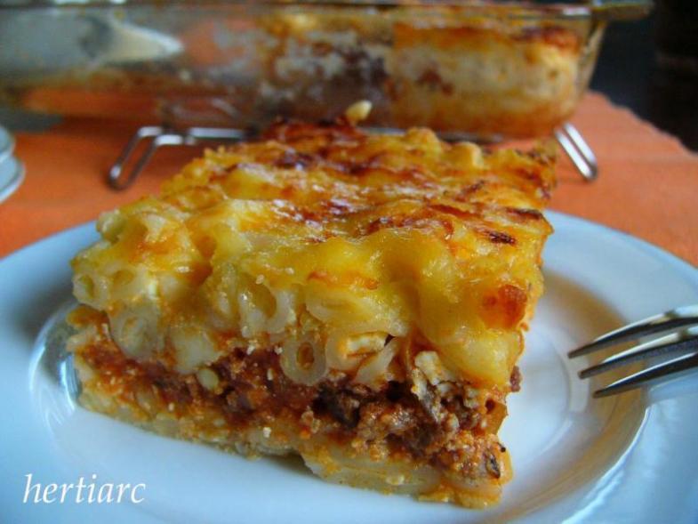 Macaroni Schootel  Halal Recipe: Lasagna Style Macaroni Schootel macaroni