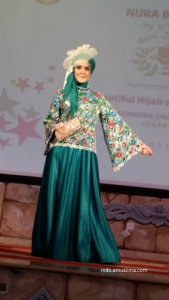 Formal or informal dress by Nura Boutique  Beautiful and Elegant Muslima Clothing tosca