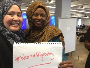 worldhijabday worldhijabday #WorldHijabDay Post Trump Election. IMG 0040 e1486000411751