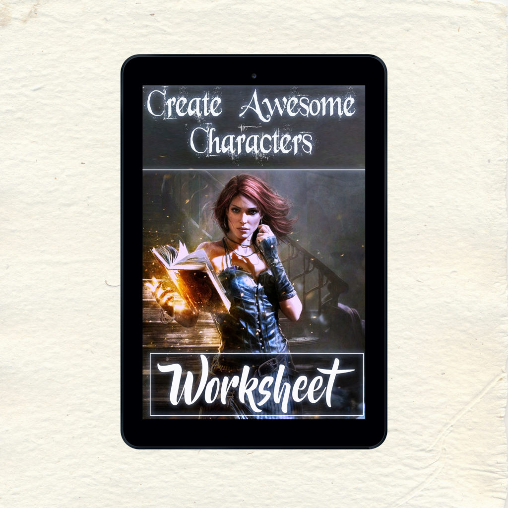 Create Awesome Characters Worksheet