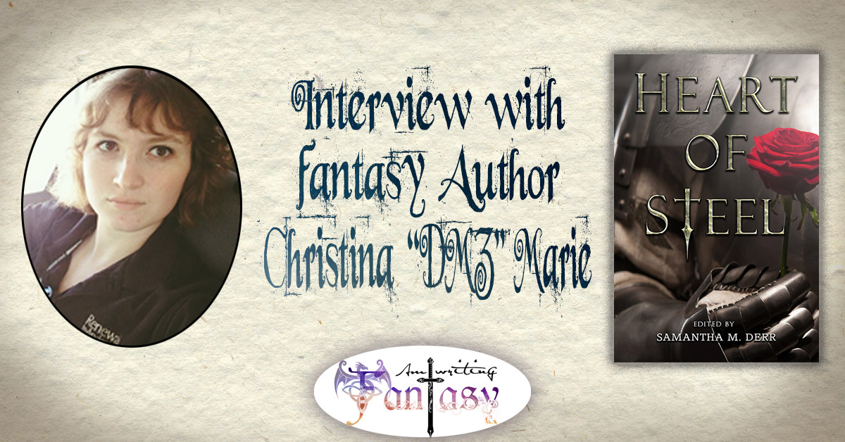 "Interview with Scifi & Fantasy Author Christina ""DZA"" Marie"