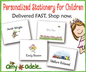 Personalized Stationery for Kids!