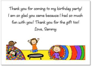 thank you notes for small children amy s notes