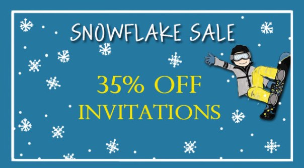 Party Invitations on Sale!