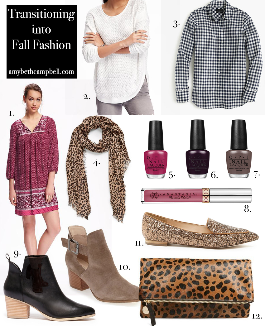 Transitioning into Fall Fashion - amybethcampbell.com