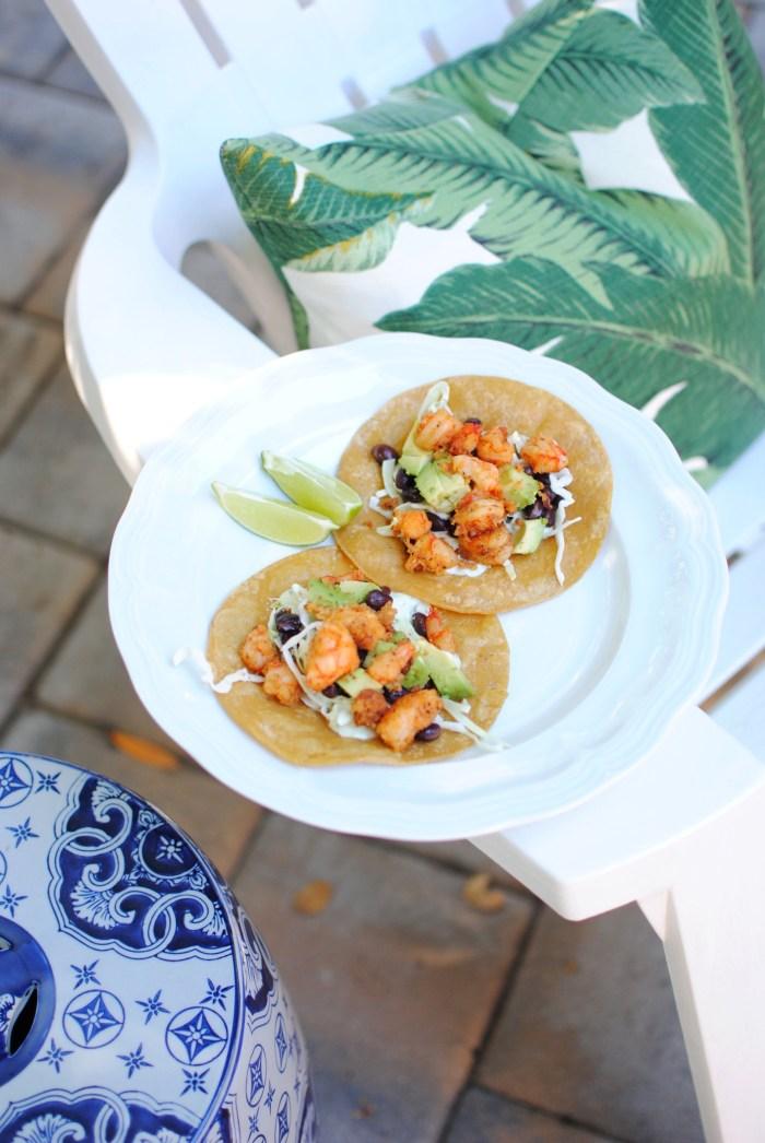 Coconut, Chili & Lime Shrimp Tacos - amybethcampbell.com