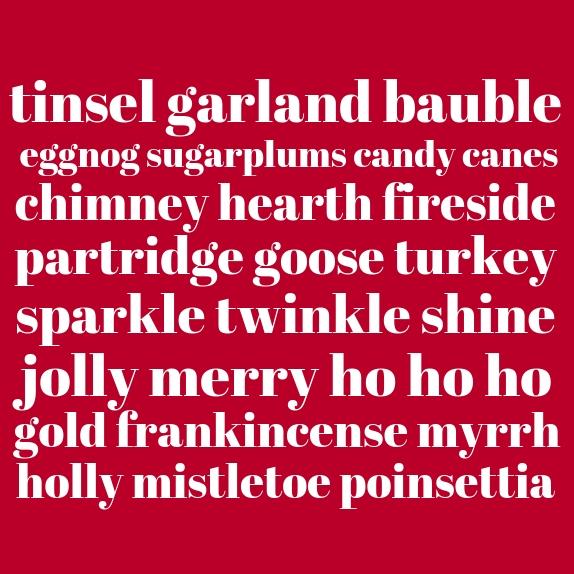 copywriter amy boylan christmas card