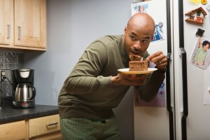 So this guy might confess to sneaking cake at midnight to a computer, but not his doc.