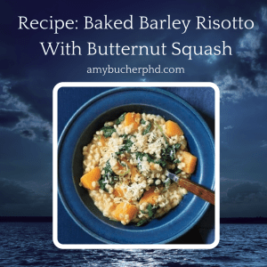 Recipe-Baked Barley Risotto With